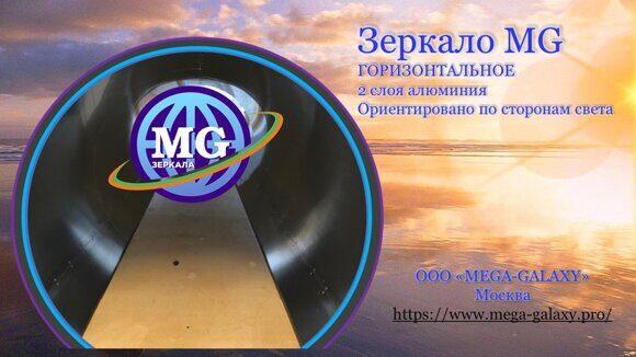 Зеркало MG горизонтальное-двухслойное-ориентированное