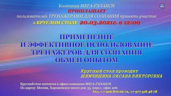 Круглый стол 20.03